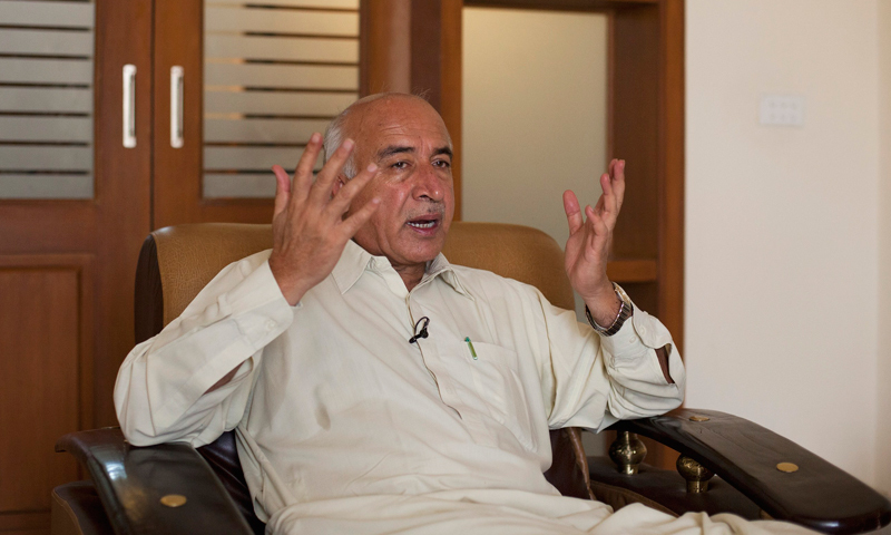 """""""The people of Balochistan must benefit from these projects,"""" said Dr Abdul Malik Baloch.- Reuters/File Photo"""
