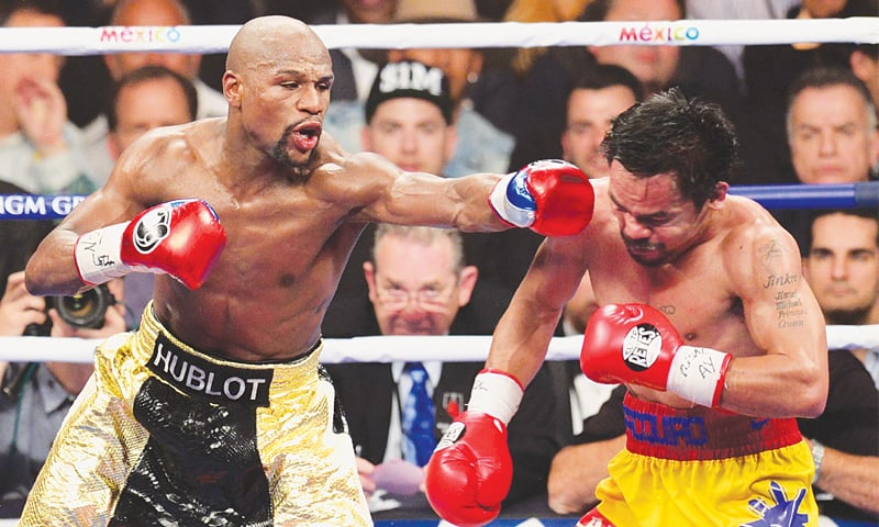 Mayweather cements legacy with Pacquiao win in richest fight ever