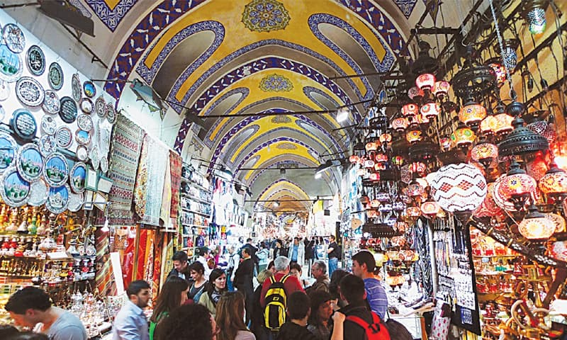 Merchants of Istanbul's Grand Bazaar fear for their future as evictions loom