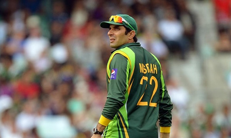 Misbah doesn't like to always have to look over his shoulder.