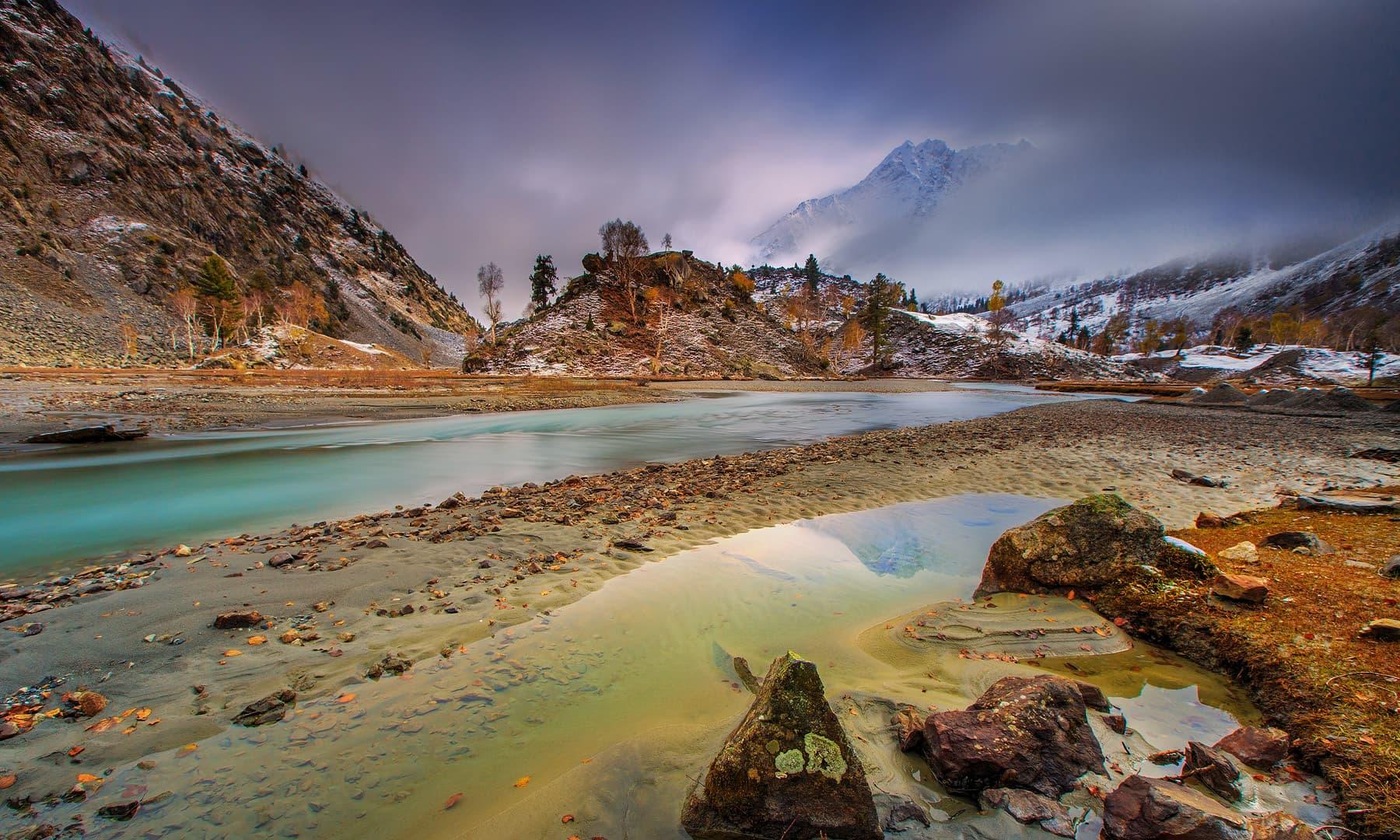 Naltar river. — Syed Mehdi Bukhari