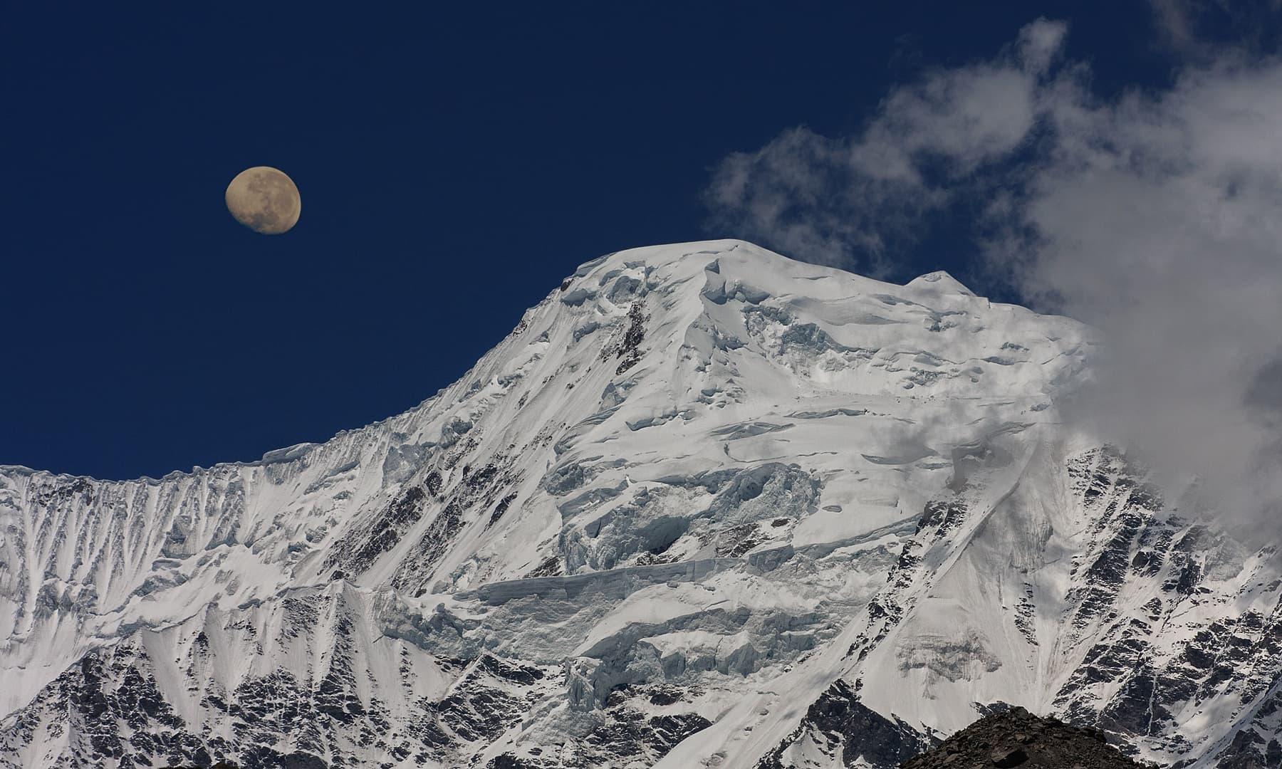 Nangaparbath South Ridge. — Syed Mehdi Bukhari