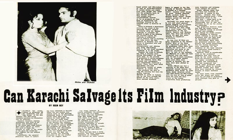 Can Karachi salvage its film industry?
