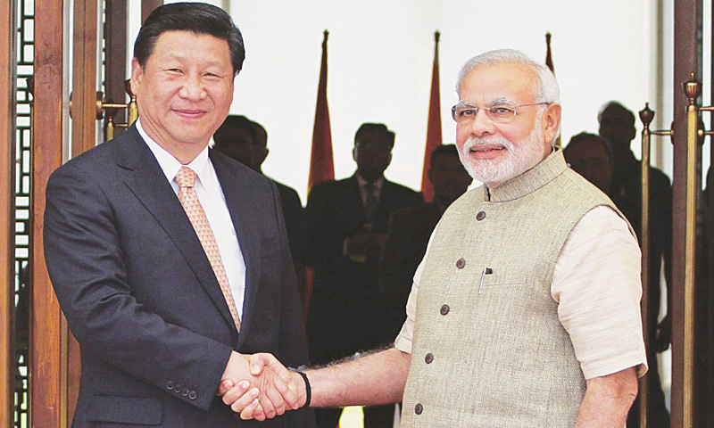 "With Pakistan a long-time ally of Beijing, many observers have said that China is seeking to encircle India with ""a string of pearls"". ─ AP/File"