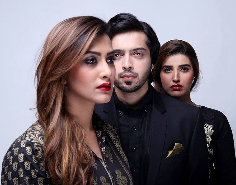 Fahad Mustafa played the role of a husband caught up between his two wives in 'Doosri Biwi'.— Courtesy photo