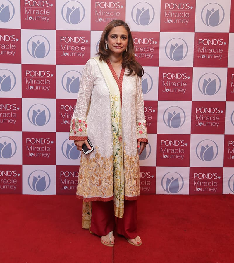 Pond's Miracle Journey also honoured uncelebrated heroes like Imkaan Welfare Organization Director Tahera Hasan. — Publicity photo