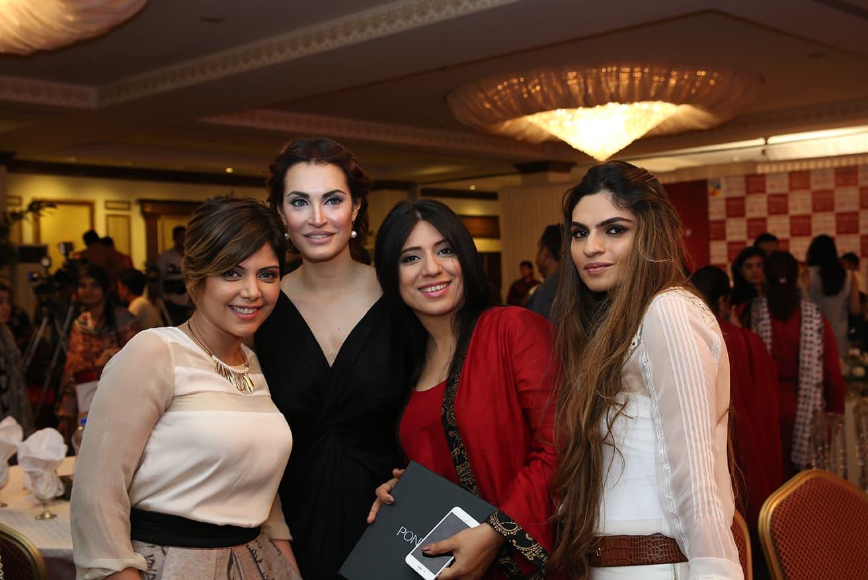 Miracle Mentors Hadiqa Kiani, Nadia Hussain, Momina Duraid and Shehla Chatoor. — Publicity photo