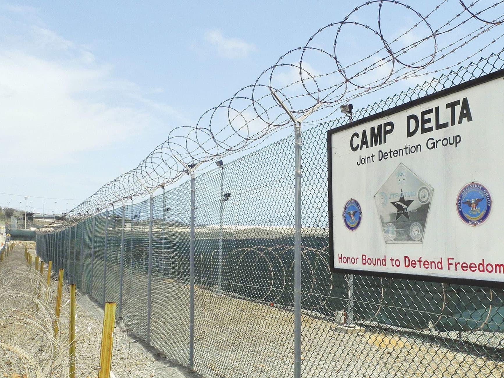 Camp Delta at the US naval base in Guantánamo Bay, Cuba. — AFP