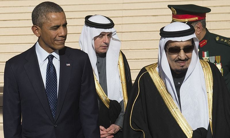 Obama may try to persuade Saudi Arabia and other Gulf states to create a region-wide missile defence system.—AFP/File