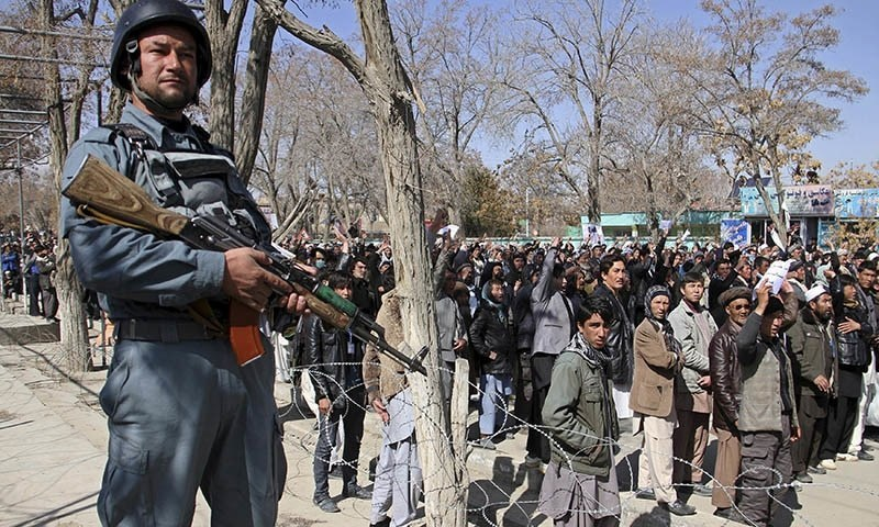 Masked gunmen seized the minority ethnic Hazaras from a bus in the southern Afghan province of Zabul in late February as they were returning from Iran. — Reuters/file