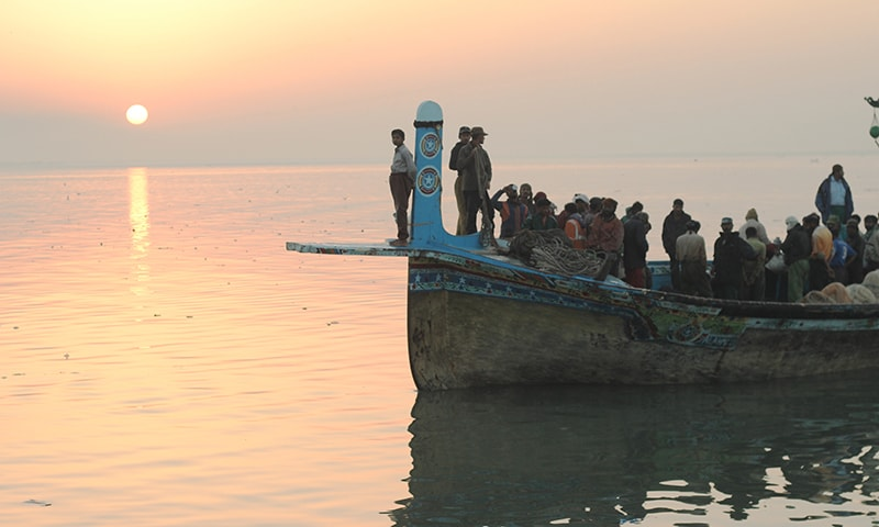 Sunrise, fishing and tranquility at Ibrahim Hyderi