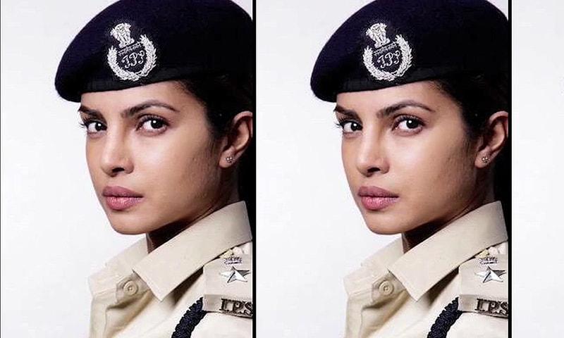 پریانکا نے فلم جےگنگاجل میں پولیس افسر کا کردار ادا کیا —۔