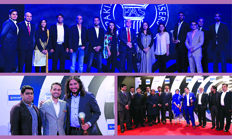 (Top) JWT Pakistan bagged the highest number of awards. (Bottom left) BBDO Pakistan took four awards for its 'Not a Bug Splat' campaign, while (right) Arey Wah also won four awards for the Kenwood Khush raho campaign – Photographs provided by the PAS.