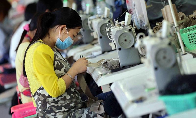 ٹیکسٹائل کی دنیا میں چین سب سے بڑا ایکسپوٹر بھی ہے اور سب سے بڑی مارکیٹ بھی