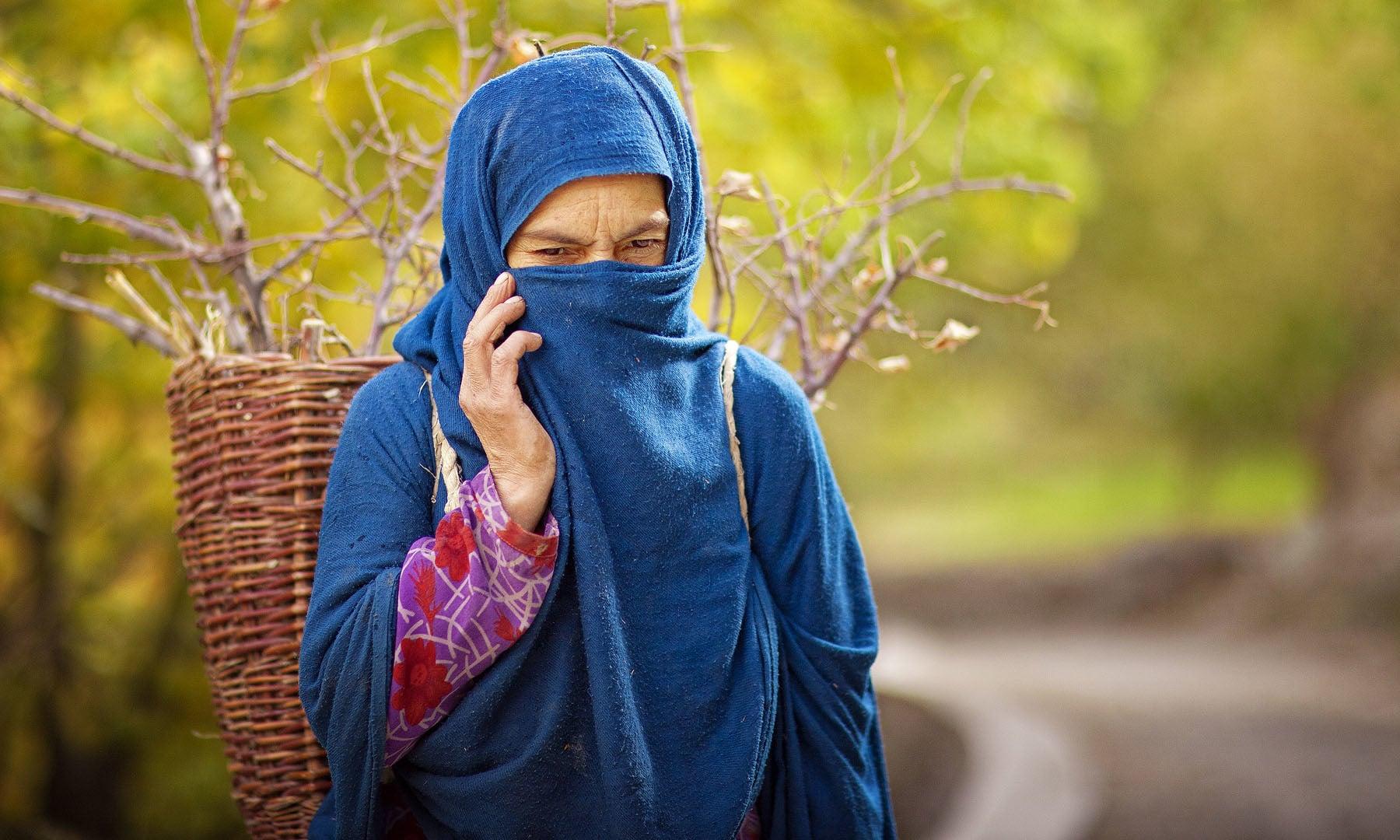 Woman from Nagar.