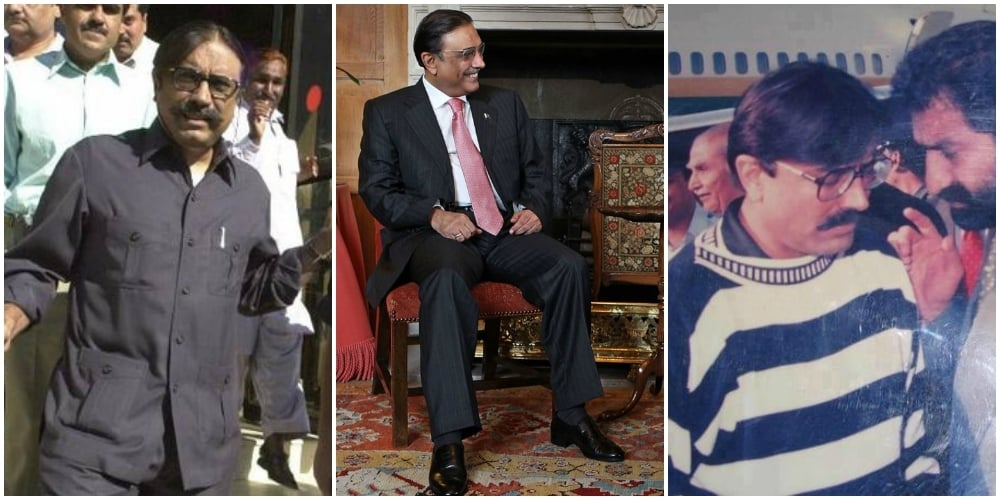Zardari's made his fair share of mistakes in the past (extreme left and extreme right) but everyone should get a chance at redemption; Just look at that baby pink tie! (centre)