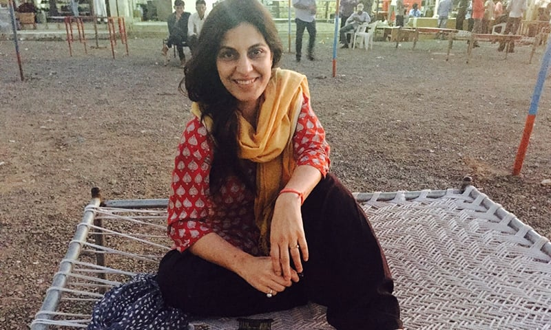 Juhi Chaturvedi is having her moment with Piku's great success — Photo: Scroll.in