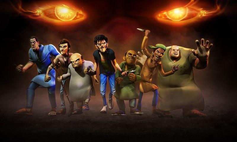 The villains in 3 Bahadur.