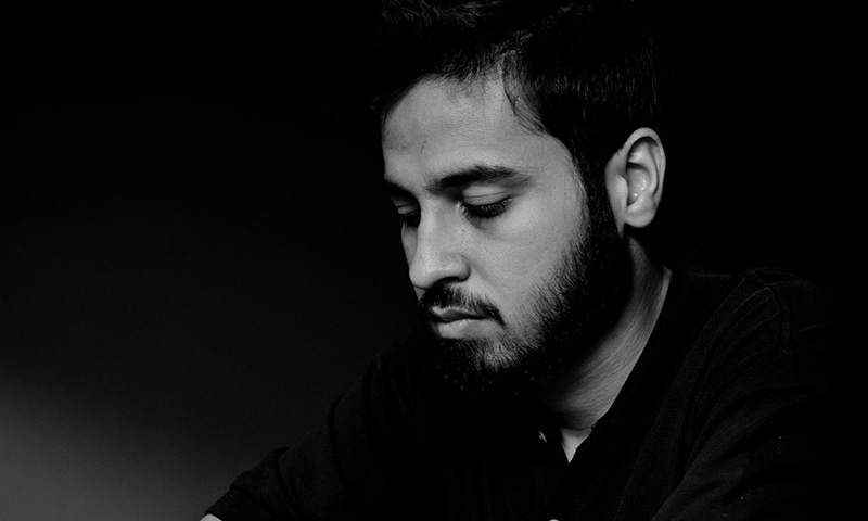 A photograph that went viral on social media that purportedly shows Saad Aziz, as obtained from his Facebook account's public photos.