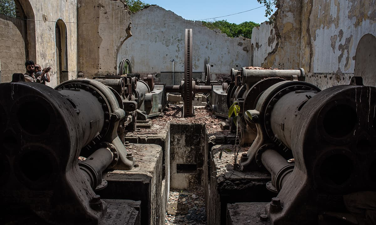 Karachi's first drainage system   Mohammad Ali, White Star