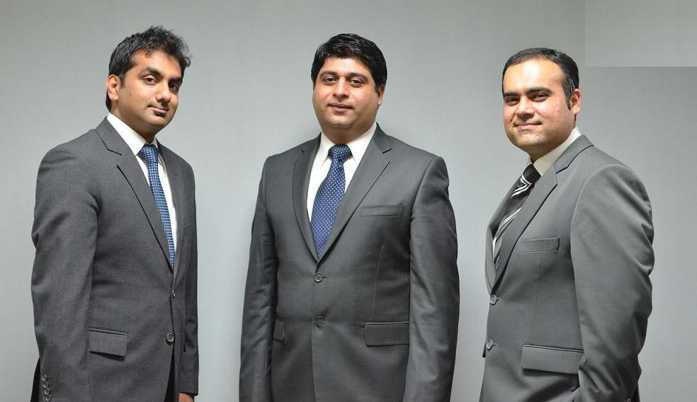 Getting into gear: (L-R) Khalid, Khawaja and Butt are eager to market XGear internationally.