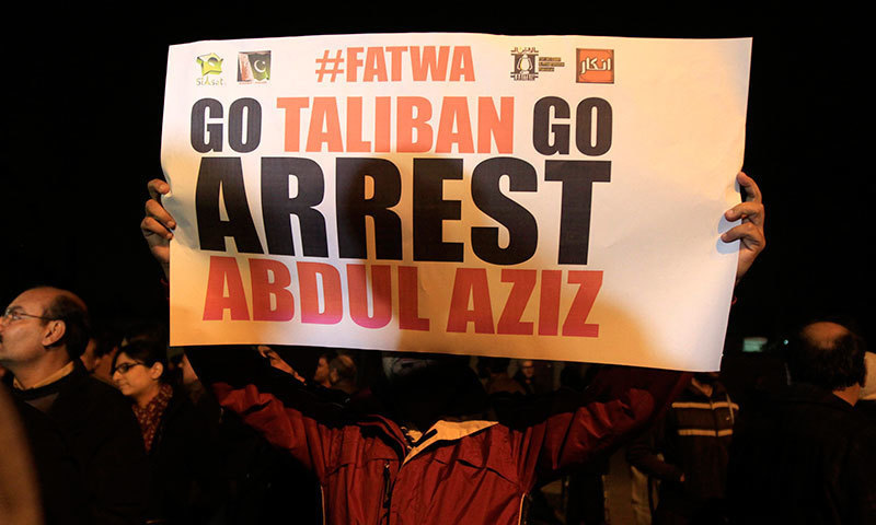 Part of the campaign against Lal Masjid - Reuters/File