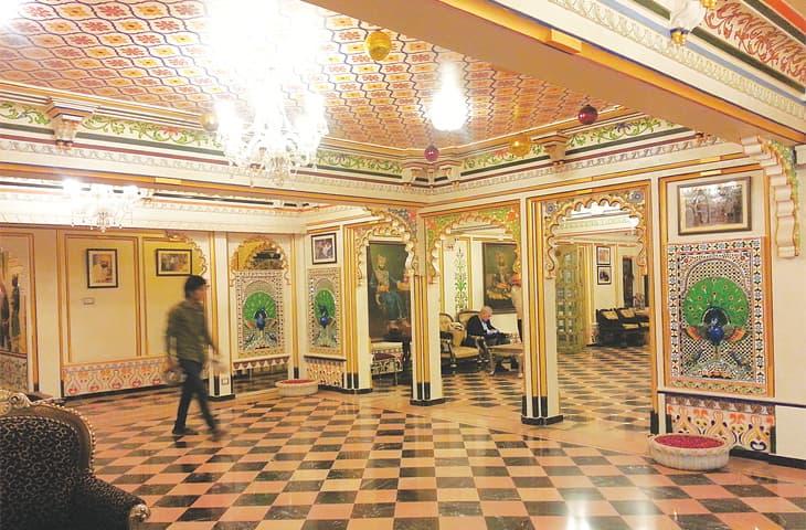Chunda Palace Hotel, Udaipur, Photos by the writer