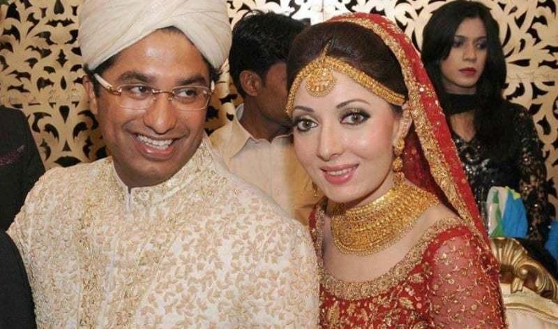 Hasham's beau, Sharmila wore Bunto Kazmi to her shaadi... and it seems like as did Hasham!