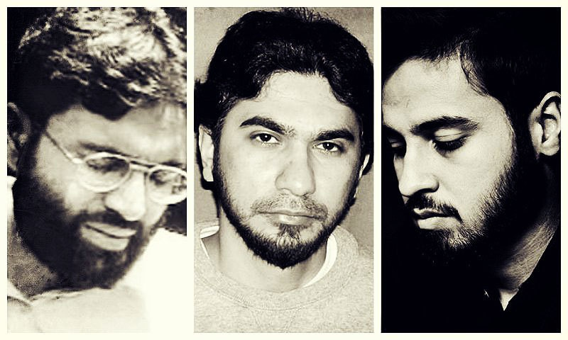 Left to right: Omar Saeed Sheikh, Faisal Shahzad and Saad Aziz . —File