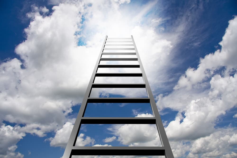 I was led to believe all that stood between me and the internet was a ladder.