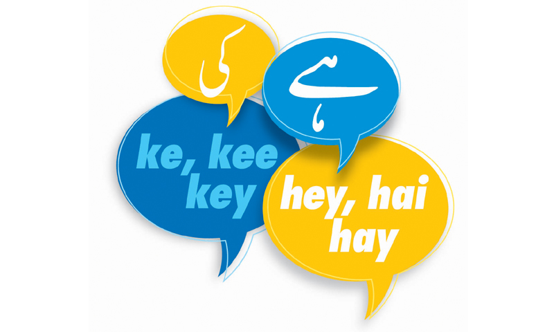Ki or key? Hai or hay?