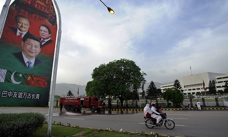 Islamabad heartily welcomed the arrival of Chinese President Xi Jingping last month | Tanveer Shahzad, White Star