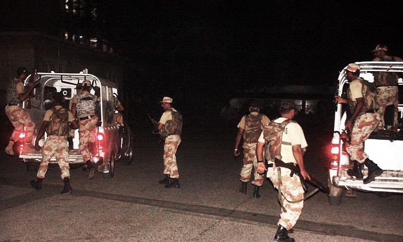 Rangers escort Mirza home on SHC order - Pakistan - DAWN COM