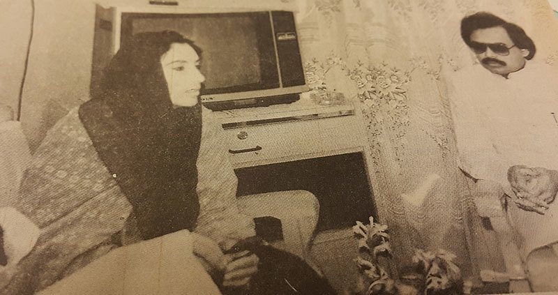 Shady business: back then it was a thing to wear shades in shade—Photo Courtesy: Dawn Herald, May 1994