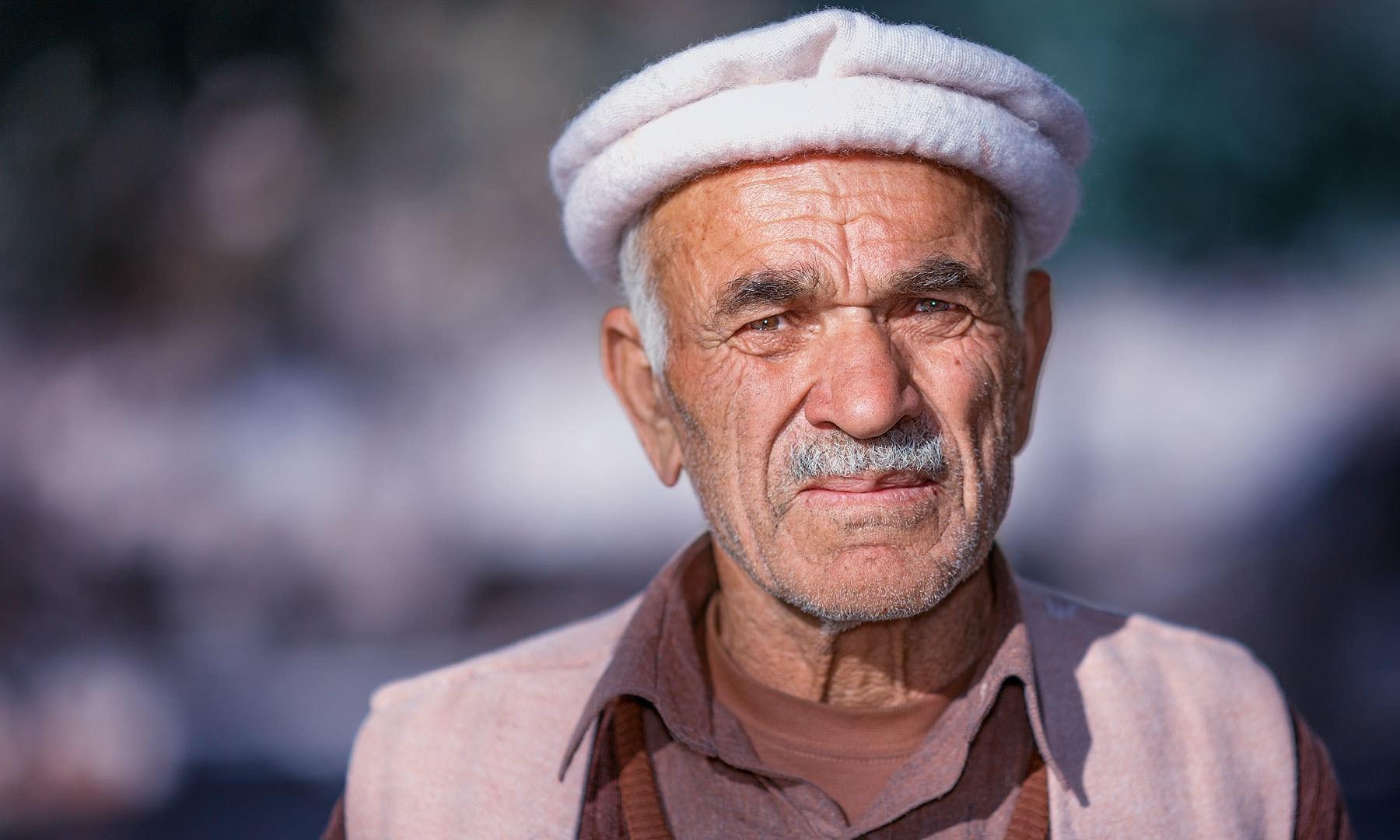 پسو سے ایک چہرہ — فوٹو سید مہدی بخاری