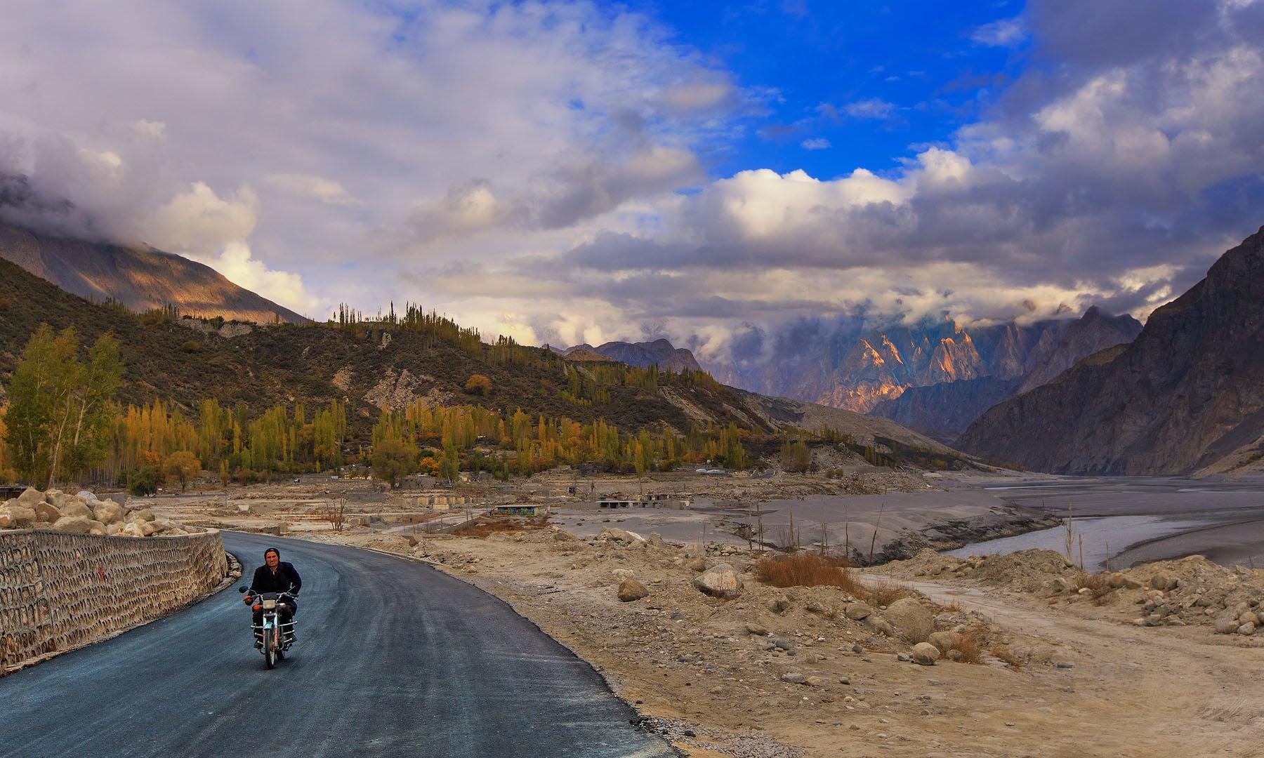 حسینی گاؤں — فوٹو سید مہدی بخاری