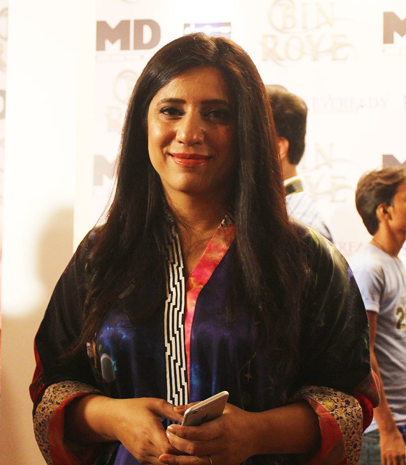 Momina Duraid smiles for the camera — Photo by Zoya Anwer