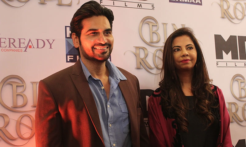 Humayun Saeed at the press-meet.— Photo by Zoya Anwer