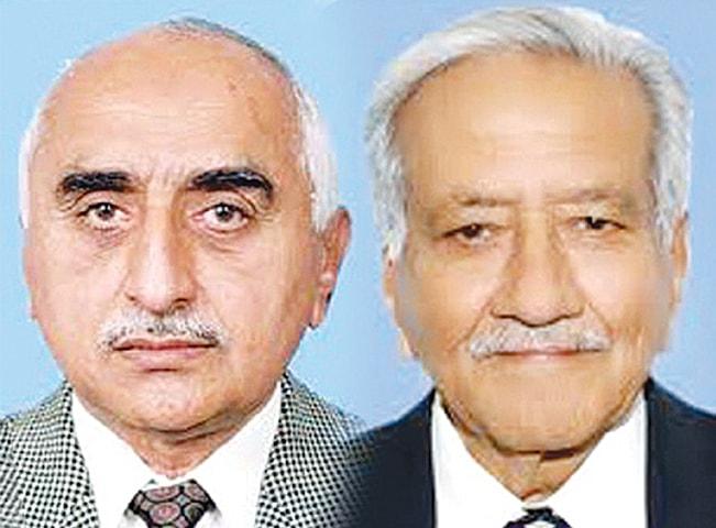 Dr Ibrahim Jatoi & Aftab Shaban Mirani
