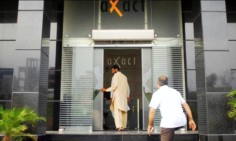 The arrest came after an FIA raid on the Axact office where officials said a large number of degrees were recovered.—Online/File