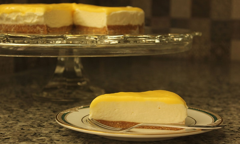 Hungry? This no-bake cheesecake is my fuss free dessert of choice
