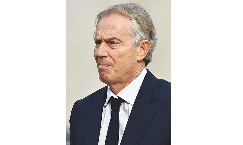 Tony Blair.—AFP