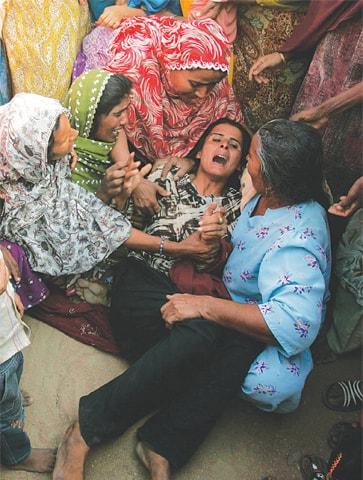Gang-rape survivor Mukhtar Mai.