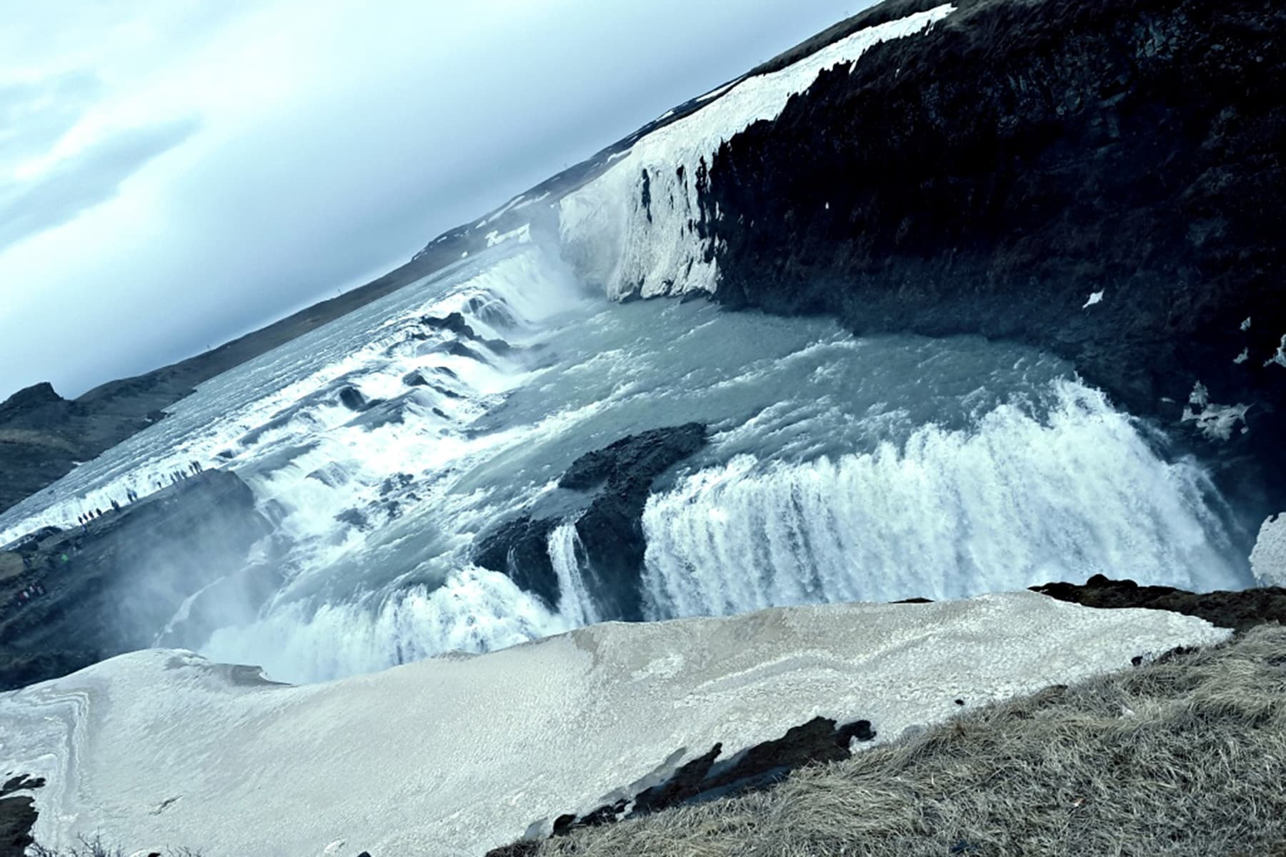 Gulfoss waterfall, part of Iceland's Golden Circle.