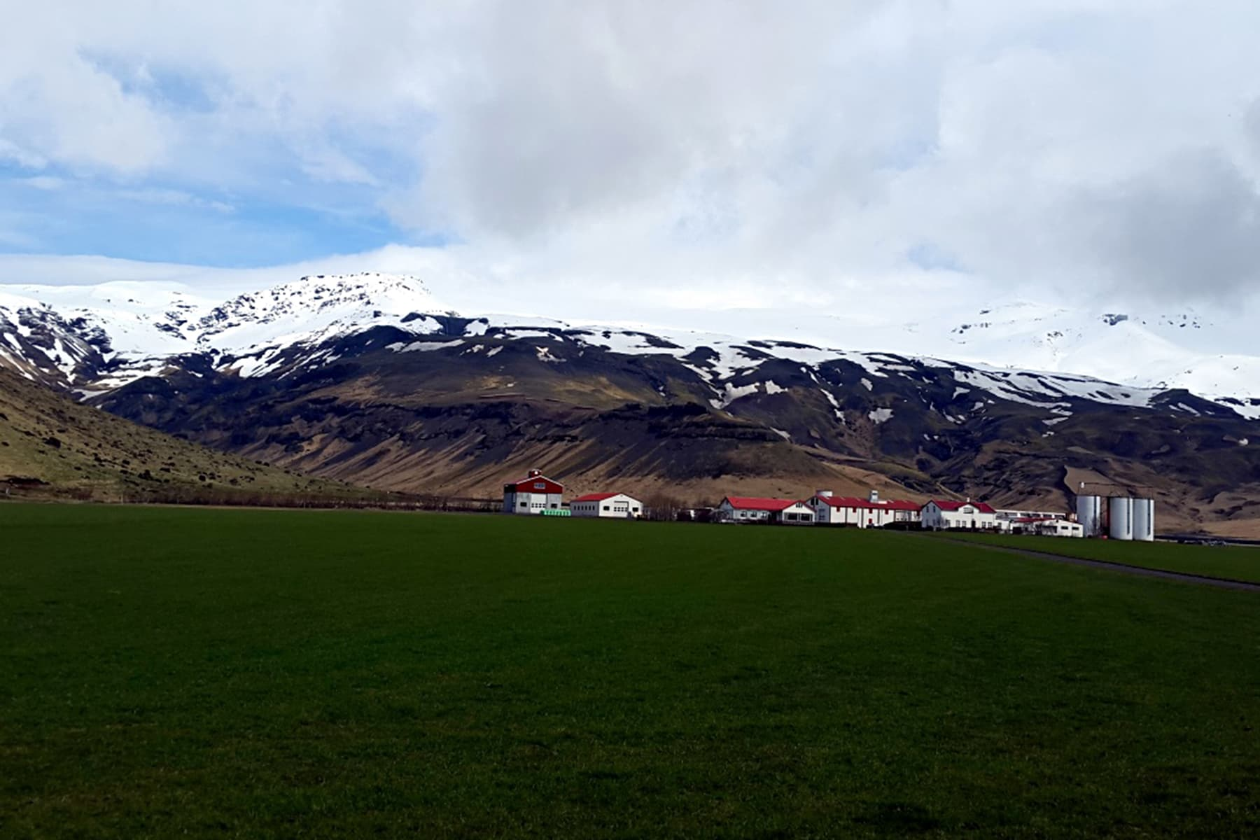 A view of Eyjafjallajokull, a volcano that erupted in 2010, causing thousands of flight disruptions around Europe.