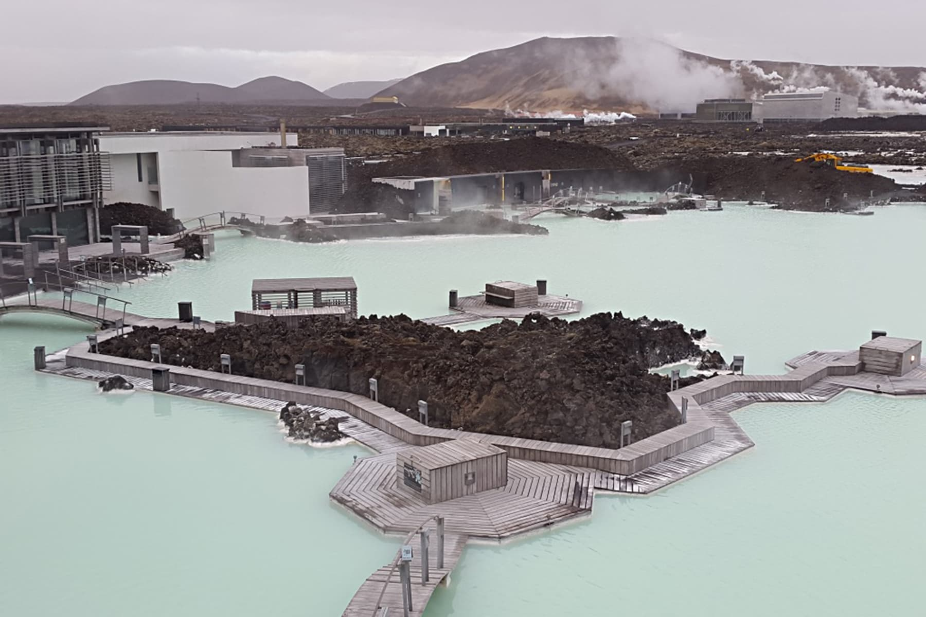 After hours: the Blue Lagoon. Noted as one of the 25 wonders of the world, the Blue Lagoon is dense with silica mud and minerals, it is said to have naturally healing effects.