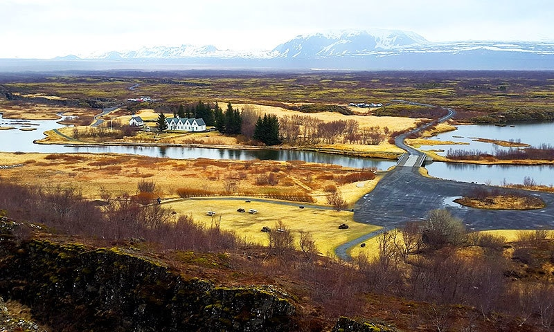 Solitude and doodh patti in Iceland