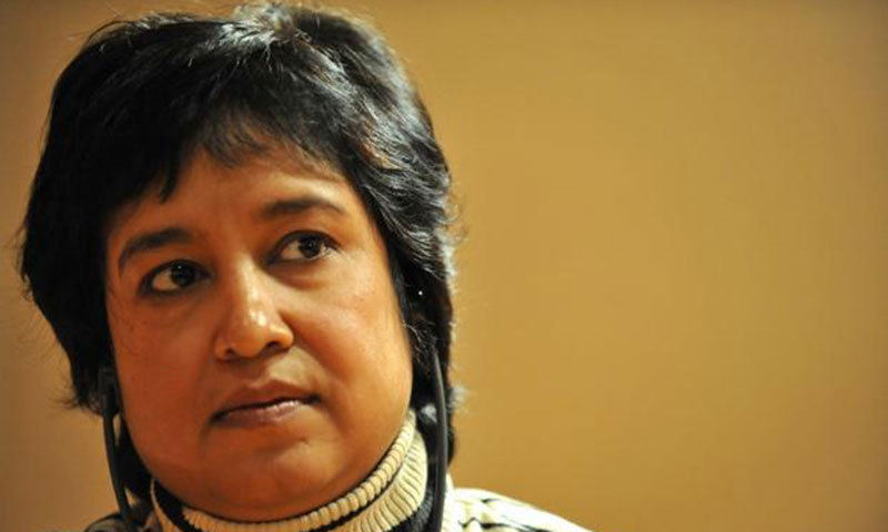 Bangladeshi writer Taslima Nasreen. — Photo by AFP