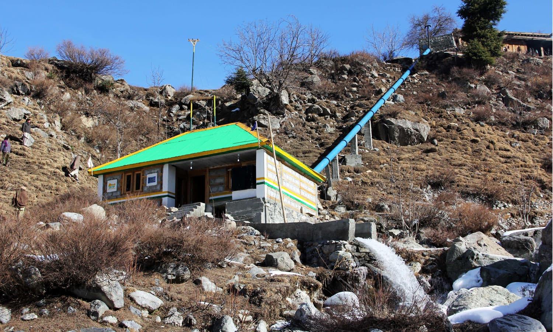 A view of Serai Mankyal, district Swat.