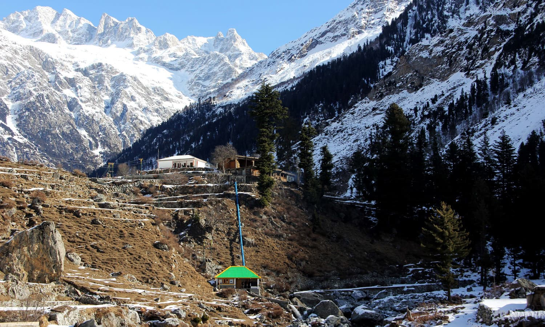 A view of Serai MHP, district Swat.